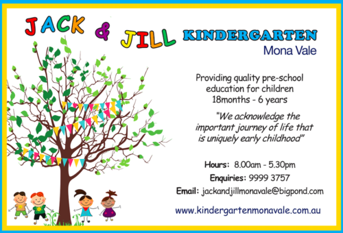 Jack and Jill Kindergarten Mona Vale