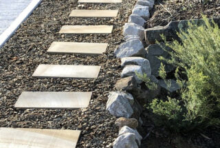 Stepping Stone Pathway (construction)