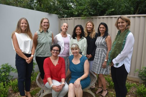 Multidisciplinary team looking after women's health. We welcome you to our service.