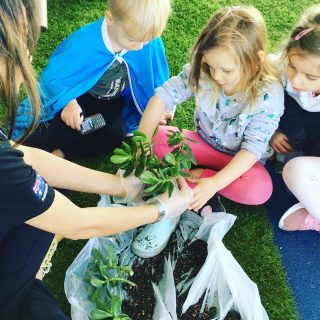 Making Garden in Our Gumboots