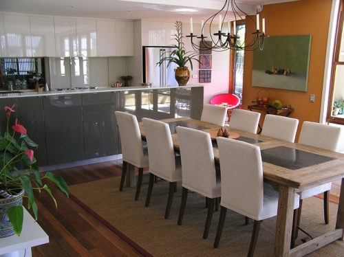 Interior decorating, kitchen finishes and colour, Mosman