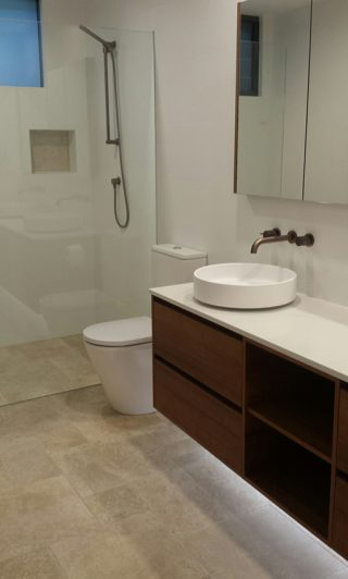 A new bathroom fitout, Clareville