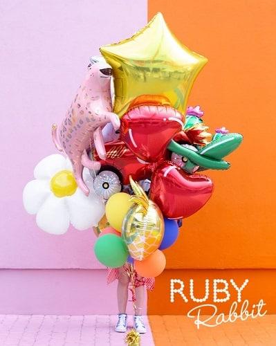 Ruby Rabbit Partyware